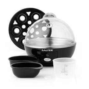 Salter Electric Boiled Poached Egg Cooker, 430 W Thumbnail 2