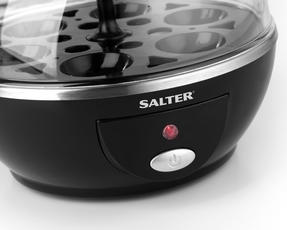 Salter Electric Boiled Poached Egg Cooker, 430 W Thumbnail 6