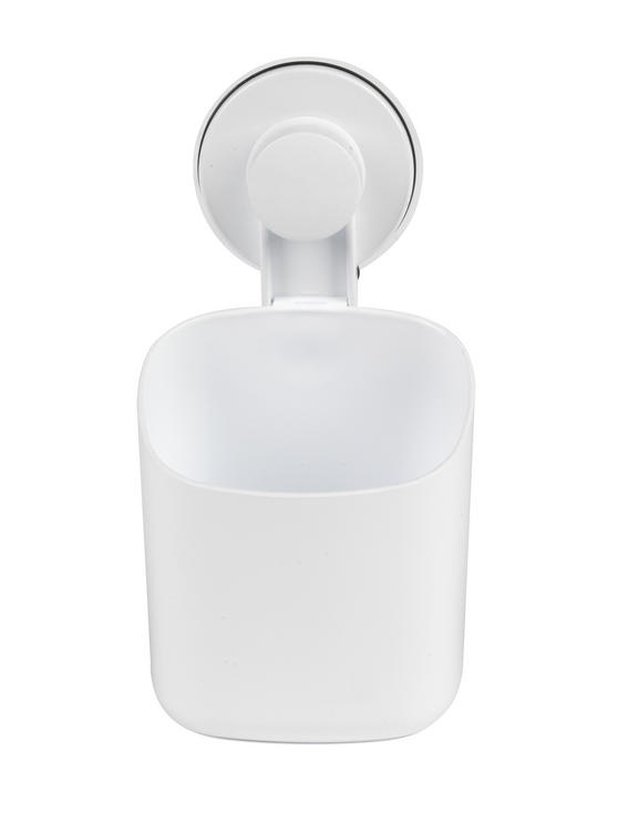 Beldray LA043191 Plastic Suction Toothbrush Holder, White