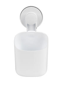 Beldray LA043191 Plastic Suction Toothbrush Holder, White Thumbnail 1