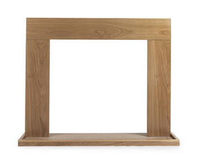 Beldray EH1766BQ Bilbury Fire Surround and Hearth Tray, Oak Veneer