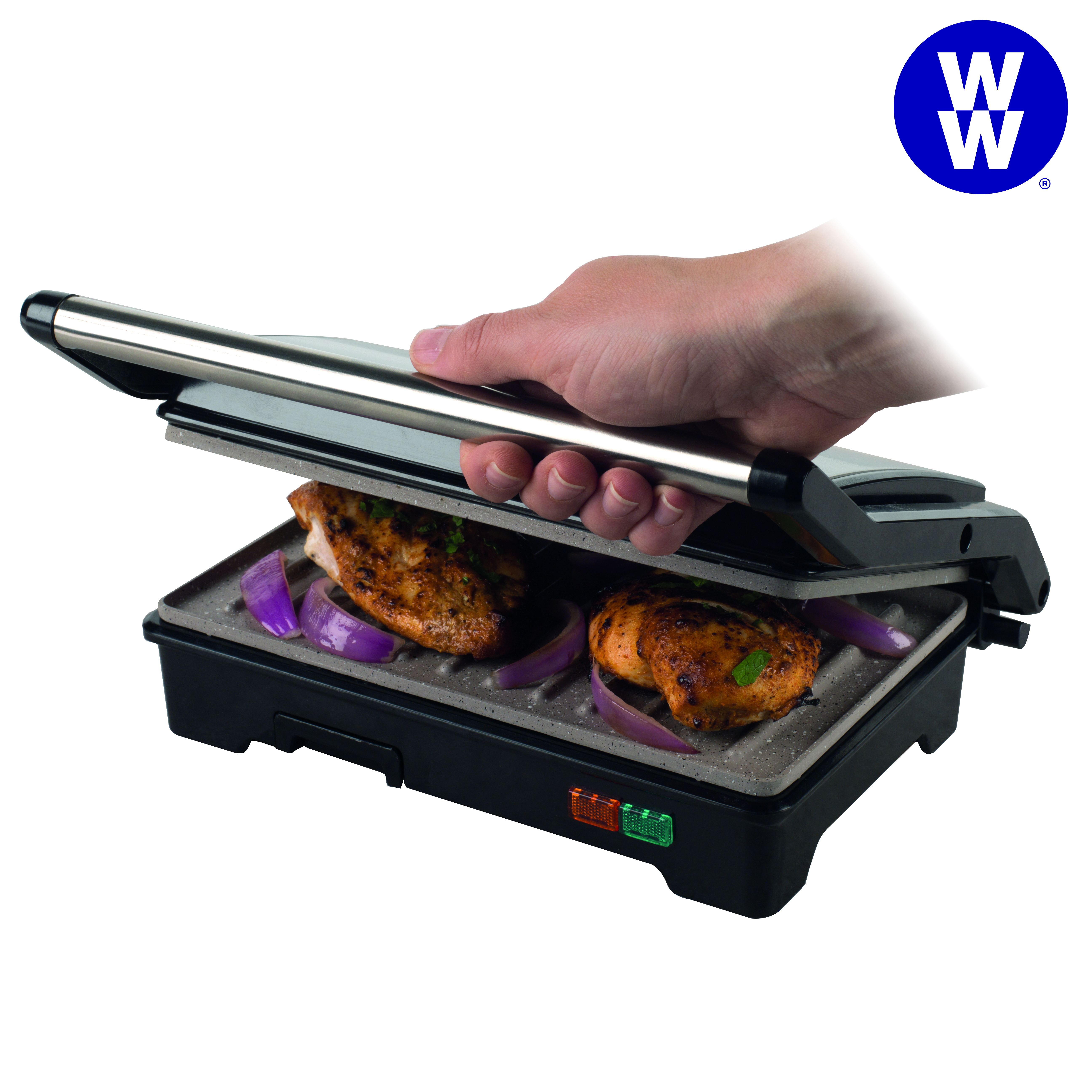 Weight Watchers EK2759WW Fold-Out Health Grill with Marble Non-Stick Coating, 750 W Thumbnail 8
