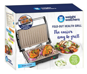 Weight Watchers EK2759WW Fold-Out Health Grill with Marble Non-Stick Coating, 750 W Thumbnail 5