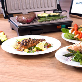 Weight Watchers EK2759WW Fold-Out Health Grill with Marble Non-Stick Coating, 750 W Thumbnail 10