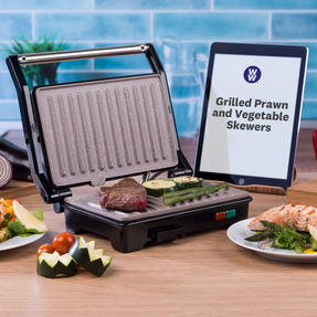 Weight Watchers EK2759WW Fold-Out Health Grill with Marble Non-Stick Coating, 750 W Thumbnail 2