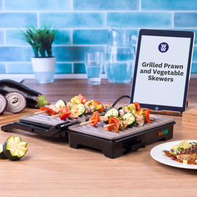 Weight Watchers EK2759WW Fold-Out Health Grill with Marble Non-Stick Coating, 750 W Thumbnail 3