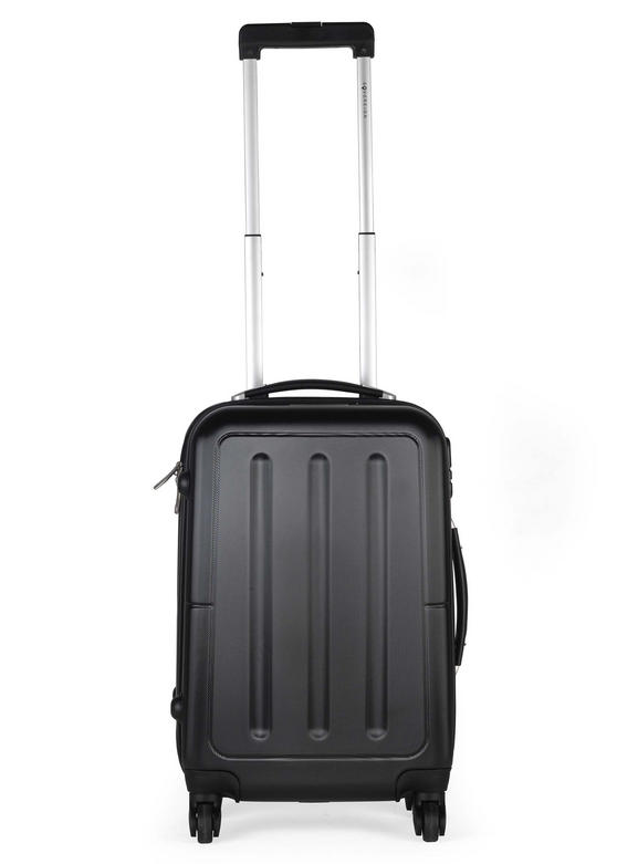 Constellation LG0033920BLKQDMIL Galloway ABS Suitcase, 20?, Black