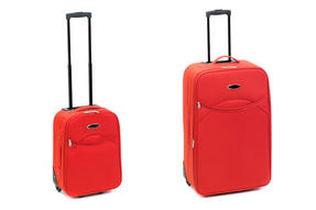 "Constellation LG00265R2PCSAMIL Rio Eva Suitcase Set, 18"" & 28"", Red"