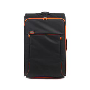"Constellation Superlite Suitcase, 24"", Black/Orange Thumbnail 2"