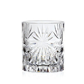 RCR 26376020006 Oasis Crystal Cocktail Whisky Water Tumblers Glasses, 360 ml, Set of 8 Thumbnail 2