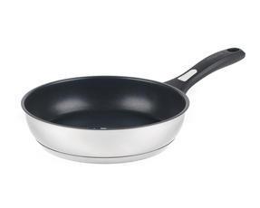 Thomas P500112 Lock & Pour Non-Stick Frying Pan, 26 cm, Stainless Steel Thumbnail 1