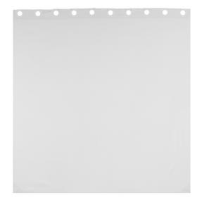 Beldray LA041814WHT Waffle Hookless Shower Curtain, 180 x 180 cm, White Thumbnail 4