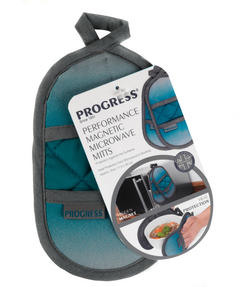 Progress MFPRO10976-OMB Performance Magnetic Microwave Mitts, Teal/Grey Thumbnail 3