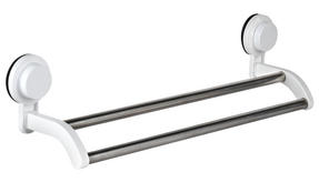 Beldray LA046512 Suction Double Towel Rail Rack Thumbnail 1