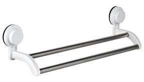 Beldray LA046512 Suction Double Towel Rail Rack