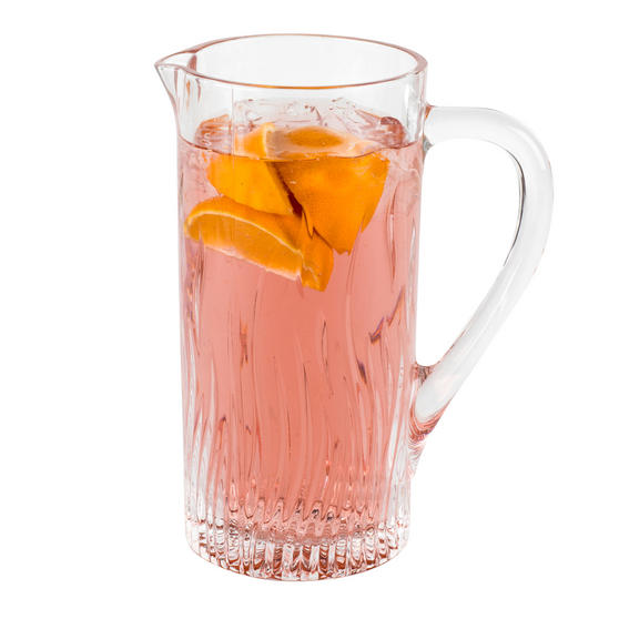 RCR 25877020006 Fire Crystal Glass Water Juice Cocktail Jug, 1.2 Litre