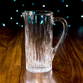 RCR 25877020006 Fire Crystal Glass Water Juice Cocktail Jug, 1.2 Litre Thumbnail 4