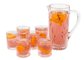 RCR 25877020006 Fire Crystal Glass Water Juice Cocktail Jug, 1.2 Litre Thumbnail 5