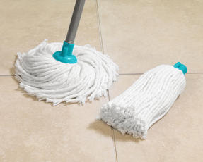 Beldray LA049773 Extendable Round Cotton Mop with Refill, Turquoise Thumbnail 2