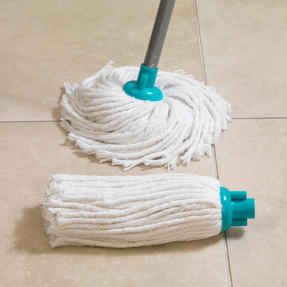 Beldray LA049773 Extendable Round Cotton Mop with Refill, Turquoise Thumbnail 3