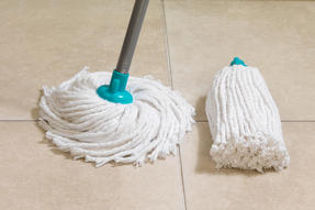 Beldray LA049773 Extendable Round Cotton Mop with Refill, Turquoise Thumbnail 4