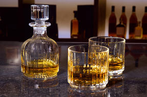 RCR 25535020206 Crystal Combo 3 Piece Set Stackable Whisky Decanter and Tumblers Thumbnail 7