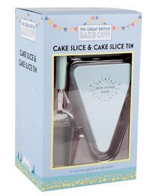 Great British Bake Off 88201406C Cake Slice and Cake Slice Tin Gift Set Thumbnail 3