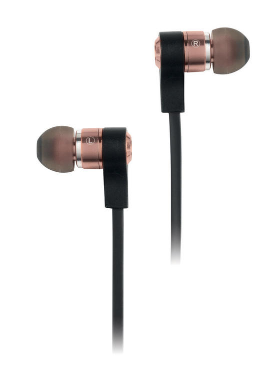 Intempo Metal Earphones, Rose Gold