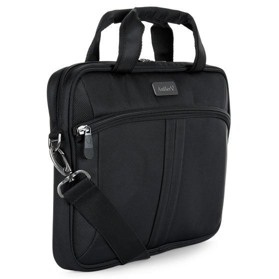 Antler 3861124120 Business Laptop Case Sleeve Bag Carrier, 28 cm, Black