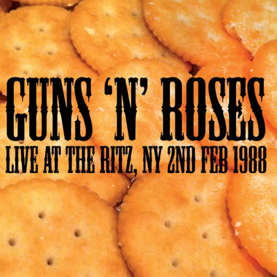Intempo EE2276 Guns 'N' Roses Live At The Ritz LP Vinyl Record