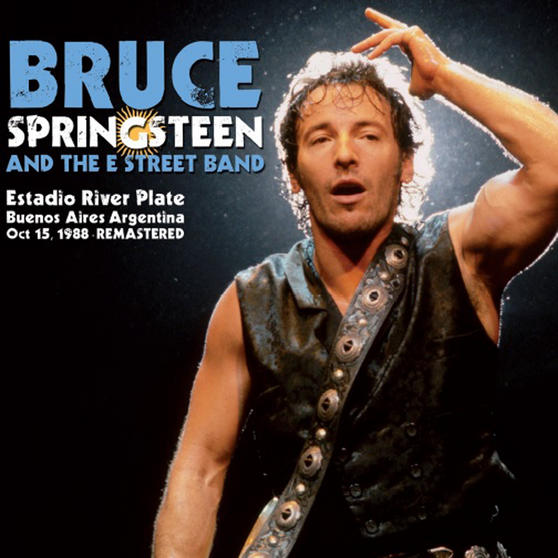 Intempo EE2278 Bruce Springsteen and The Street Band LP Vinyl Record, Estadio River Plate 1988, Remasterd, 12""