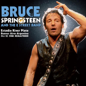 Intempo Bruce Springsteen and The Street Band LP Vinyl Record, Estadio River Plate 1988, Remasterd, 12""