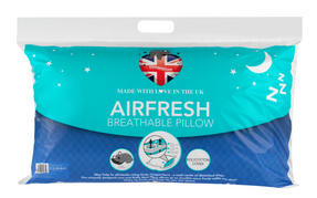Dreamtime MF02575UP Airfresh Breathable Pillow, Polyester, White, Set of Two Thumbnail 2