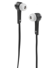Intempo EE1211BLK Flat Cable Earphones, Black