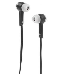 Intempo EE1211BLK Flat Cable Earphones, Black Thumbnail 1