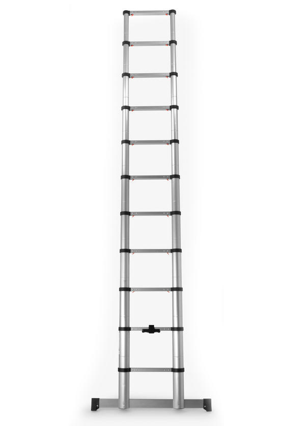 Beldray Telescopic Extension Ladder, 3.2 Metre
