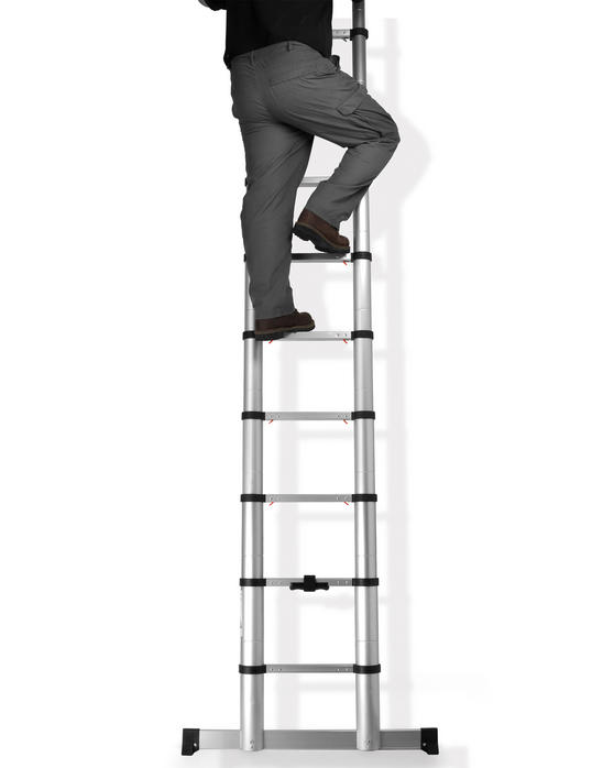 Beldray Telescopic Extension Ladder, 3.2 Metre Thumbnail 4