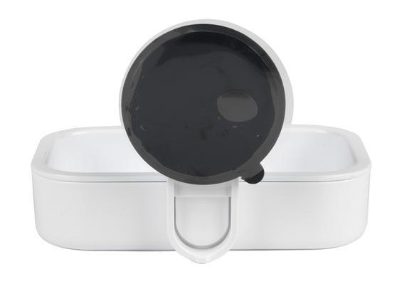 Beldray Plastic Suction Soap Dish, White Thumbnail 4