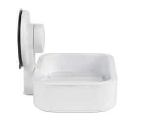 Beldray LA043238 Plastic Suction Soap Dish, White Thumbnail 5