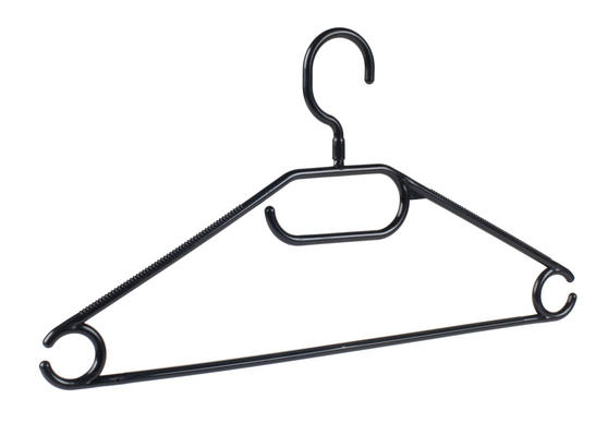 Beldray Plastic Clothes Hangers, Pack of 10, Black Thumbnail 3