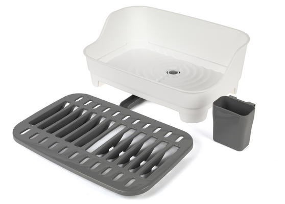 Beldray Large Dish Drainer, Grey/White Main Image 6
