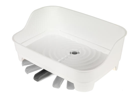Beldray Large Dish Drainer, Grey/White Main Image 5