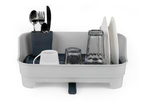 Beldray LA042835 Large Dish Drainer, Grey/White Thumbnail 7