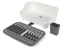 Beldray LA042835 Large Dish Drainer, Grey/White Thumbnail 6