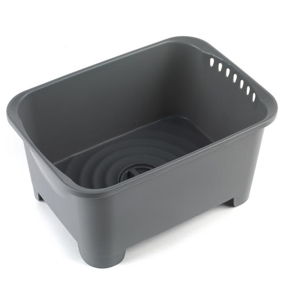 Beldray Washing Up Bowl with Drainer, Grey Thumbnail 5