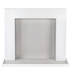 Beldray EH1766WHBQ Bilbury Fire Surround and Hearth Tray, White