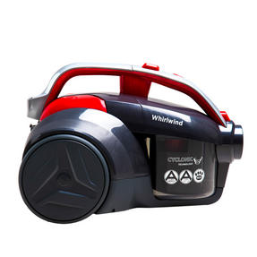 Hoover LA71WR20 Whirlwind Bagless Pets Cylinder Vacuum Cleaner, 700 W, Red/Grey, Energy Class A