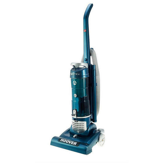 Hoover TH71VX01 Vortex Bagless Upright Vacuum Cleaner, 750 W, Blue, Energy Class A