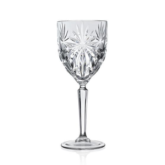 RCR 24799020006 Oasis Crystal Wine Glasses, 230 ml, Set Of 6
