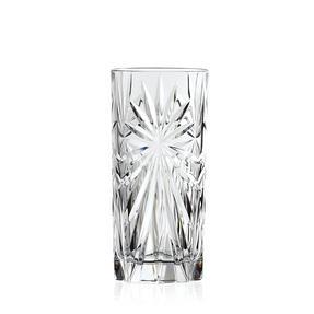 RCR 26277020006 Oasis Crystal Hi-Ball Cocktail Water Tumblers Glasses, 360 ml, Set of 6 Thumbnail 2